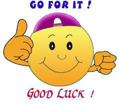 good luck 1