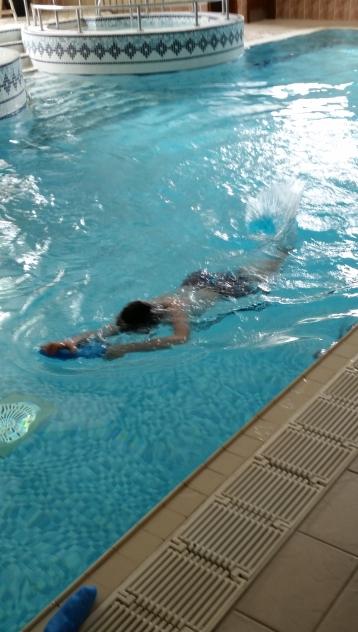 Lewis p7 swim