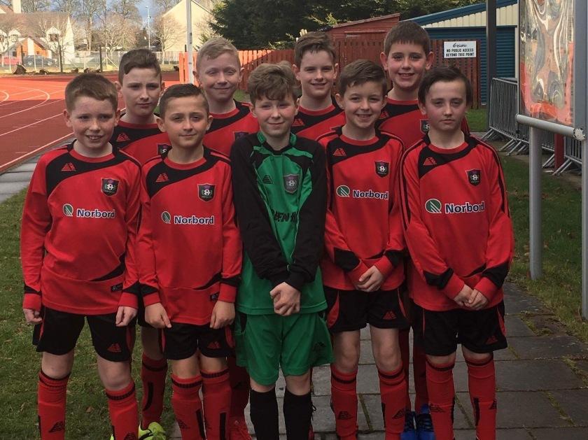 p6.7 boys football