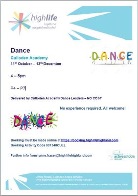 Culloden Academy Primary Dance