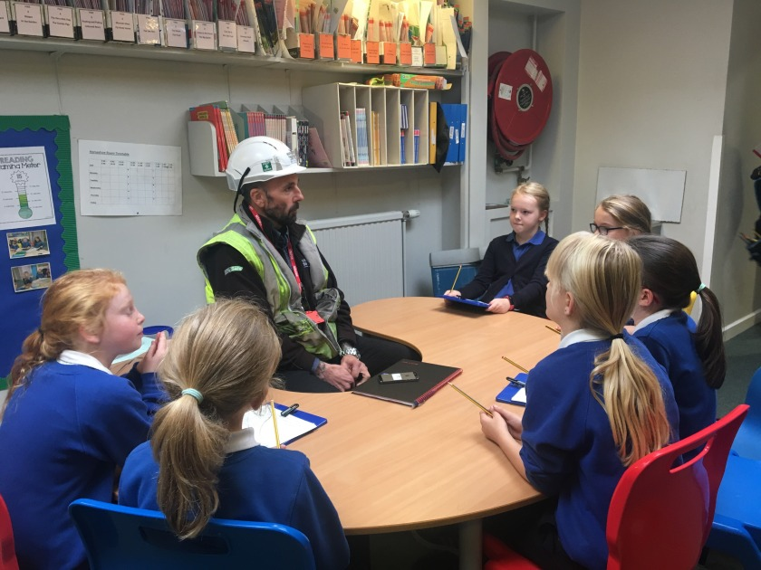 Pupil interview with Colin a