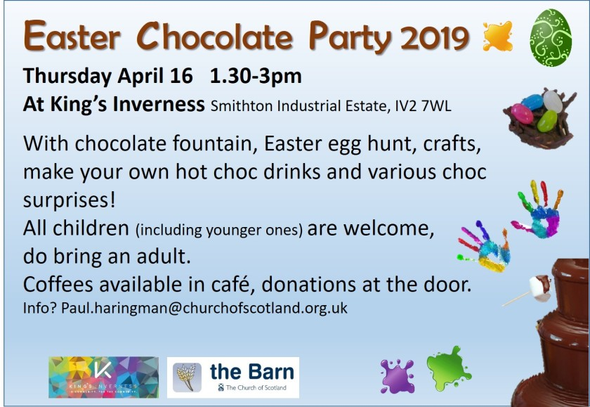 easter choc party