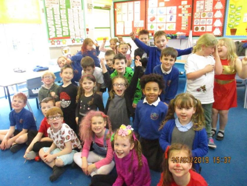 P2 3 assembly endangered animals red nose day